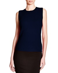 C By Bloomingdale's Sleeveless Cashmere Sweater Peacoat