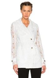 Mcq By Alexander Mcqueen Mcq Alexander Mcqueen Drawstring Trench Coat In White