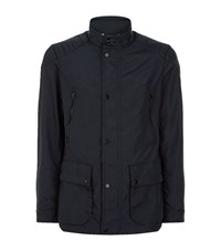 Hackett Aston Martin Motorcycle Jacket Male Black