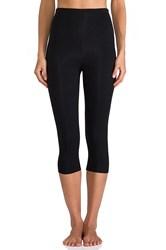 Yummie Tummie Breathe And Stretch Jocelyn Capri Black