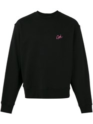 Alexander Wang Embroidered Sweatshirt Black