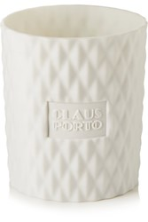 Claus Porto Chypre Cedar Poinsettia Scented Candle Colorless