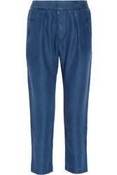 Mih Jeans The Marin Chambray Pants Blue