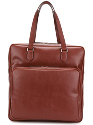 Stella Mccartney Alter Nappa Tote Men Artificial Leather One Size Red