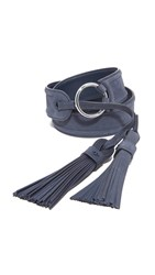 Tory Burch Tassel Belt True Navy