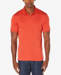Perry Ellis Men's Polo Bright Mineral Red