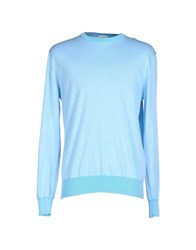 Heritage Knitwear Jumpers Men Light Green
