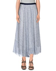 Band Of Outsiders Skirts 3 4 Length Skirts Women White