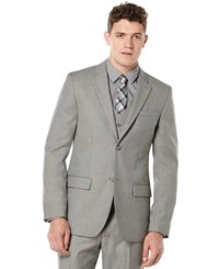 Perry Ellis Big And Tall Suit Jacket Brushed Nickel