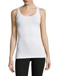 Design Lab Lord And Taylor Stretch Tank Top Fuchsia
