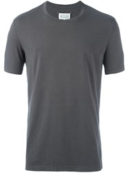Maison Martin Margiela Two Tone T Shirt Grey
