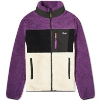 Penfield Mattawa Sherpa Fleece Jacket Purple