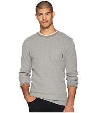 Dc Fraserview Long Sleeve Tee Grey Heather T Shirt Gray