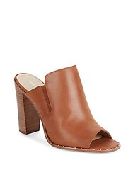 Pour La Victoire Geo Leather Mules Saddle