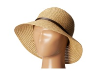 San Diego Hat Company Ubs1510 Ultra Braid Belted Cloche Camel Traditional Hats Tan
