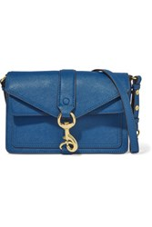 Rebecca Minkoff Hudson Mini Leather Shoulder Bag Royal Blue