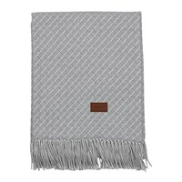 Gant Cross Throw 130X180cm Grey