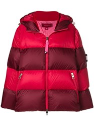 Tommy Hilfiger Puffer Jacket Red