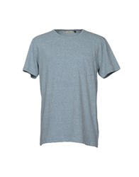Rvlt Revolution T Shirts Slate Blue