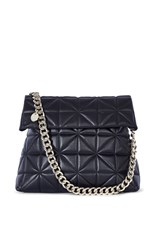 Karen Millen Quilted Bag Black