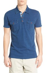 Men's Lucky Brand Military Pocket Polo
