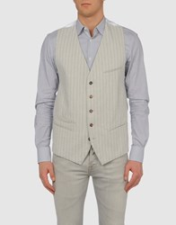 Ann Demeulemeester Suits And Jackets Waistcoats Men Light Grey
