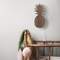 Ferm Living Pineapple Wall Lamp Smoked Oak