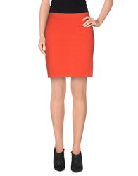 Gianfranco Ferre Gf Ferre' Skirts Mini Skirts Women Coral
