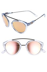 Westward Leaning Women's Olivia Palermo X 'Flower' Mirrored Sunglasses