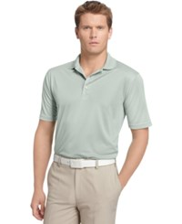 Izod Performance Solid Grid Golf Polo High Rise