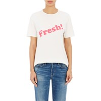 6397 Graphic 'Boy' T Shirt White Pink