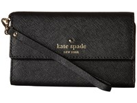 Kate Spade Cedar Street Phone 6 Wristlet Black Cell Phone Case