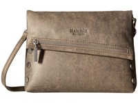 Hammitt Vip Pewter Brushed Silver Cross Body Handbags