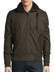 Superdry Moody Ripstop Lined Jacket Darkest Olive