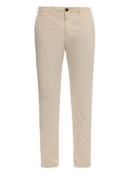 Burberry Skinny Leg Cotton Chinos