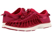 Keen Uneek O2 Anemone Bright Rose Women's Shoes Red