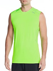 Asics Favorite Muscle Tee Green Gecko