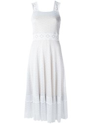 Cecilia Prado Knit Dress White