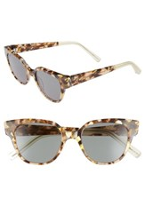 Elizabeth And James Women's Avory 49Mm Cat Eye Sunglasses Amber Green Amber Green