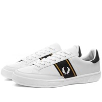 Fred Perry Authentic B3 Leather Sneaker White