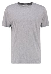 Filippa K Adrien Basic Tshirt Grey Melange Mottled Grey