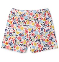 Sleepy Jones Jasper Printed Cotton Boxer Shorts Red