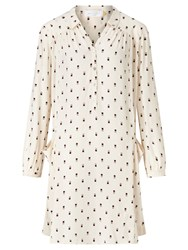 John Lewis Collection Weekend By Mini Geo Print Tunic Dress Ivory