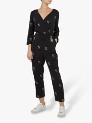 8837011e0e6 Ted Baker Colour By Numbers Duasba Midnight Sun Jumpsuit Black