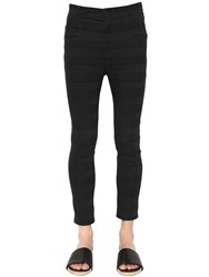 Haider Ackermann Skinny Stretch Cotton Jacquard Jeans