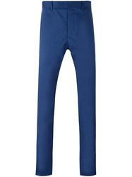Christian Dior Homme Slim Fit Chinos Blue