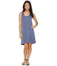 Fig Clothing Hal Dress Pirogue Blue