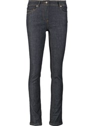 Carven Skinny Trousers Blue