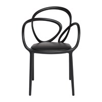 Qeeboo Loop Outdoor Chair Black