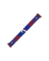 Forever Collectibles Texas Rangers Big Logo Knit Scarf Blue Red
